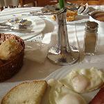 petit déjeuné copieux