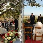 wedding at the villa
