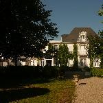 L'Hermitage from garden