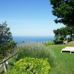 The gardens overlook the Adriatic and offer plenty of quiet spots in which to relax