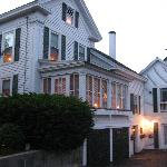 Side view of the B & B