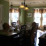 One of the two dining rooms - doesn't do it justice!