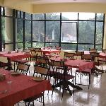 Restaurant - there is a vegetarian and non- veg one