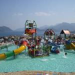 the aqua park, a great start to the holiday