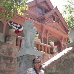 Outside Molly Brown House