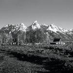 Old Buildings and Grand Teton