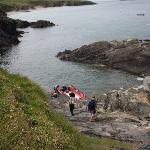 Ireland: co. Kerry - Dingle Peninsula - Great Blasket - The Slipway