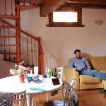 Il Borgo apartment - main level