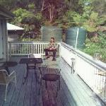 back porch off suite