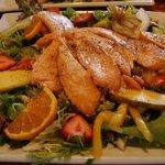 Seared Salmon salad - superb!