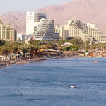 Eilat - the hotels area