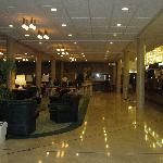 Half the lobby