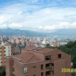 View of Medellín from Hotel QT Country Suites