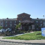 Hotelfront mit Haupteingang