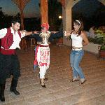 Mayflower - Greek night.