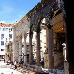 Courtyard at Diocletian's Palace