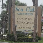 Sea Club  condo sign