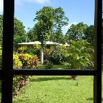 View from our room of Bobo+Karin's home