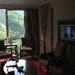 Sitzgruppe De Luxe Zimmer m. Fjordview
