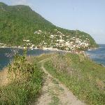 Taken at Scotts Head a village in the south of Dominica - Caribbean Sea meets the Atlantic Ocean