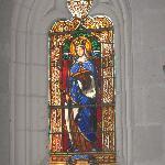 window of Saint Radegonde in chapel