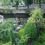 Garden & Canal View from our room