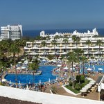 les piscines de l'hôtel
