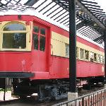 Restored Trolley Car