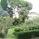 The convent's garden