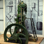 1st diesel engine built in UK, 3rd ever built in world