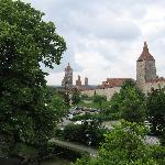 View from our room at Hotel Hornburg