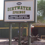 Dirtwater Springs restaurant