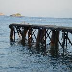 Achladies jetty