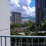 view of convention center/mountainside