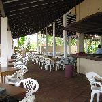 Dining Area at Suyapa Beach Hotel, May 2008