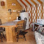 Kitchen In Yurt