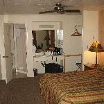 The Motel Room Inside