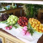 Buffet de fruits