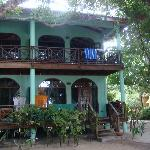 Honeymoon suite  from outside (top porch)