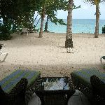 View from our Beachfront Suite