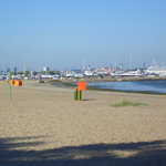 Pirita Beach very early in the morning, before the crowds arrive