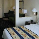 nicely furnished suite view 2