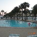 One of the 2 pools at Amalfi Coast