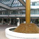 Entrance of the Hotel
