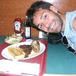 me and my fav steak :)