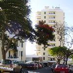 El hotel desde fuera