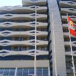 front of trakia plaza