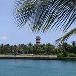 Port Lucaya lighthouse
