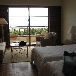 """""""Natural"""" ocean view room"""