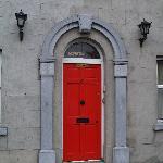 Door to guesthouse